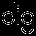 Dig Design logo light